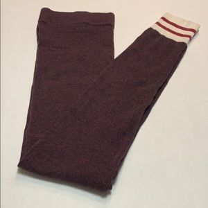 Sock monkey cabin sock leggings